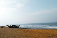 Bentota Beach, 62km south of Colombo, is a planned tourist development.