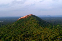 Pidurangala is a popular spot for sunrise as you can enjoy 360-degree views of not only the valleys but also Sigiriya Rock.