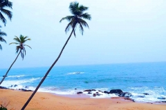 Tangalle Beach with Golden sandy palm-fringed  with a natural swimming area is a beauty to watch.