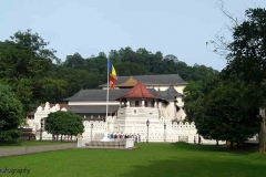 Sri Dalada Maligawa or the Temple of the Sacred Tooth Relic is a Buddhist temple in the city of Kandy, Sri Lanka